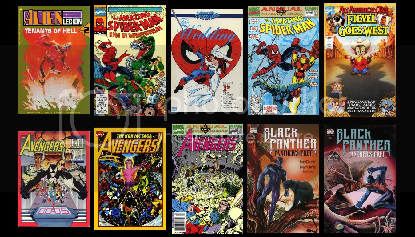 Marvel Chronology 2001 02